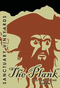 Taste wine honoring one of North Carolina's most infamous pirates, Blackbeard, at Sanctuary Vineyards in Jarvisburg.