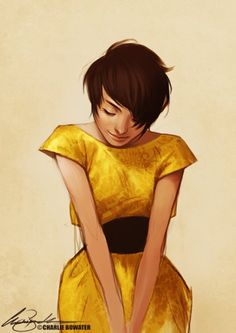 Yellow by Charlie Bowater