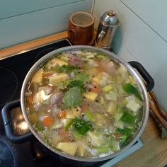 Kjötsúpa = traditional Icelandic meet soup with lamb. Click on the image for the recipe! Photo: http://icelandicknitter.com