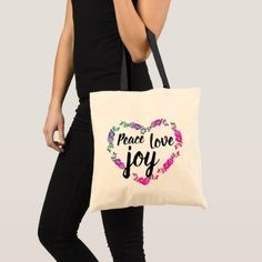 Floral border tote bag - floral style flower flowers stylish diy personalize