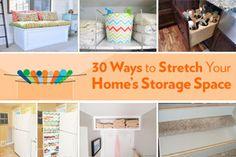 Creative storage collage