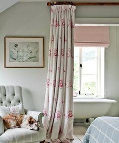 Large Window Curtains, Plain Curtains, Cottage Curtains, Cottage Windows, Country Curtains, Bedroom Windows, Lined Curtains, White Curtains, Country Window Treatments