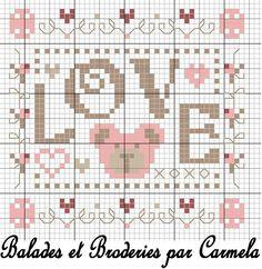 Love ♥ - balades et broderies
