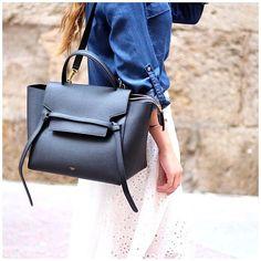 Details - Céline Belt bag #bag #celine