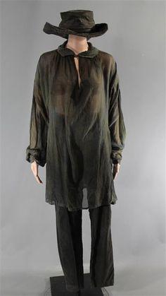 BLACK SAILS ANNE BONNY CLARA PAGET SCREEN WORN PIRATE COSTUME MULTIPLE EPISODES