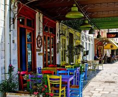 Syros Island in is one of the most traditional island of the Aegean Sea! Plan your vacation in Syros, rent a car online from www.gr and enjoy your stay in Greece! Syros Greece, Greece Travel, Greek Islands, Rustic Charm, Crete, Outdoor Dining, Outdoor Spaces, Coffee Shop, Cool Photos