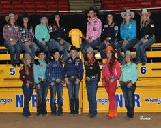 Top 15 Barrel Racers... I found Fallon real quick.. lol