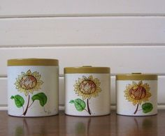 Canisters Kitchen Canisters And Vintage Kitchen On Pinterest