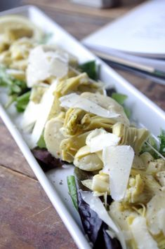 Simple but Wonderful Artichoke Salad.