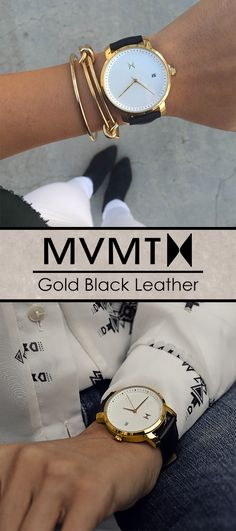 Quality crafted minimalism meets elegant chic design. Born in Santa Monica, California, the MVMT Watches initiative is to design fashion-forward products, and offer them at a revolutionary price. Let this watch, or any of our other styles, complete your accessory collection. Compliments guaranteed.