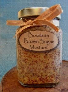Bourbon Brown Sugar Mustard