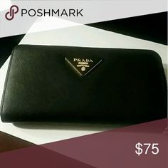 NIB inspired saffiano wallet Never used. See previous sold listing for additional pics. Comes with box and dustbag. Bags Wallets