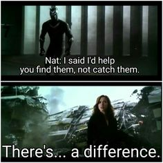I was literally leaping out of my seat in this scene! Yay for Natasha doing what's right!!