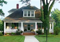 Perfect Cottage with a Wonderful Porch. (Content in a Cottage)