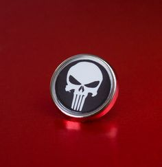 The Punisher Lapel/Tie Pin Badge by UnofficiallyOriginal on Etsy