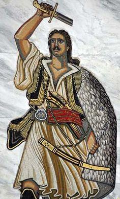 Athanasios (Massavetas) Diakos, Hero of the revolution.