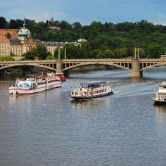 Vtava river and bridges