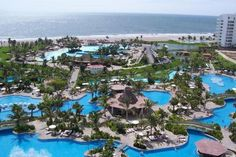 Grand Mayan Resort, Puerto Vallarta, Mexico... Went here several times. This resort is great if you love laying at the pool instead of the beaches, swim up bars, & happy hour! There's a lazy river, wave pool, and all kinds of slides! Lots of great restaurants too. *Christina*