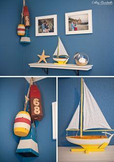 wonderful nautical nursery details