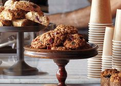 Bacon, Oatmeal, and Raisin Cookies Recipe - Bon Appétit- someone added chopped dark chocolate and 1/4 tsp chipotle chili powder.