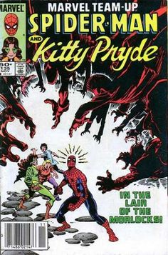 Spiderman - Kitty Pryde - Lair Of The Morlocks - Hands - Trap