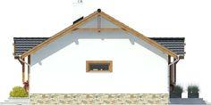 DOM.PL™ - Projekt domu ARC Ares bez garażu CE - DOM AR8-76 - gotowy koszt budowy Cabana, Design Case, Home Fashion, Modern House Design, Gazebo, Architecture Design, House Plans, Outdoor Structures, Mica