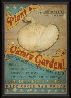 vintage victory garden posters | Eating Floyd...: Eating Floyd: Once Upon A Time...