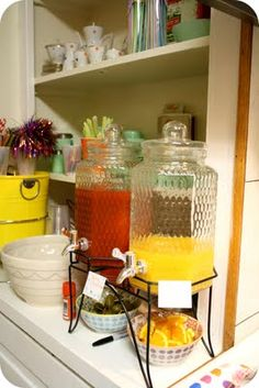 Oh the Cuteness!: The Housewarming Party Part Two- drinks for summer party