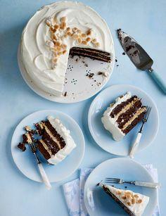 No Bake Desserts, Just Desserts, Delicious Desserts, Dessert Recipes, Fancy Desserts, Cupcake Recipes, Cupcakes, Cupcake Cakes, Jaffa Cake