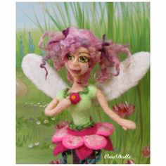 Mini Fairy with pony tails. By OooDolls