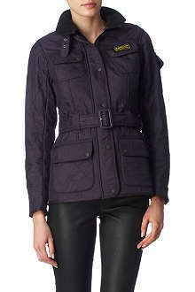 BARBOUR International Polarquilt jacket (purple)