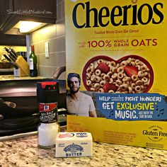 Fried Cheerios (aka, Classic Hot Buttered Cheerios) - Sweet Little Bluebird Snack Mix Recipes, Gourmet Recipes, Cooking Recipes, Cereal Recipes, Cherrios Recipes, Veggie Snacks, Kid Snacks, Lunch Snacks, Clean Eating Kids