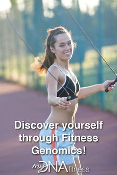 Optimize your physical fitness through genomics. The future is now. Check it out at www.dnaspectrum.com/fitness #dna #health #fitness #genomics #mydnafitness