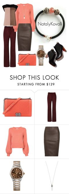"""""""Untitled #85"""" by natalya-zelenova on Polyvore featuring Chanel, Acne Studios, Chloé, By Malene Birger, Ebel, Marc Jacobs and Oasis"""