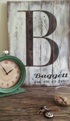 Hey, I found this really awesome Etsy listing at https://www.etsy.com/listing/188770731/last-name-with-est-date-rustic-wooden