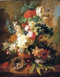 Vase of Flowers Paul Theodor van Brussel, 1783 Fine Art Prints, Framed Prints, Canvas Prints, Dutch Artists, Art Of Living, Flower Vases, Art Reproductions, Fine Art Paper, Poster Size Prints