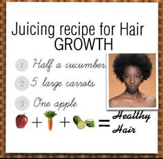 Hair growth juicing recipe