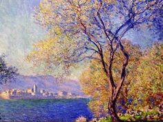 Claude Monet | Antibes seen from the Salis Gardens (1888)