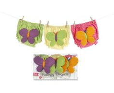 Baby Aspen Butterfly Bloomers For Fluttering Bums, 0-6 Months