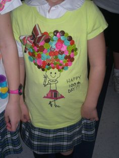100th day shirt idea