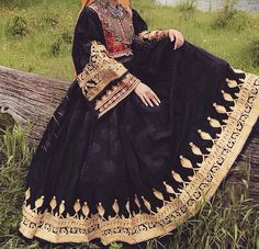 Afghan Clothes Beauty