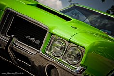 green Olds 442 by AmericanMuscle on deviantART