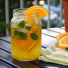 The Orange Mojito  Think a traditional mojito with a lot more zest and sweetness, the orange mojito truly hits the spot when you've just had the longest nine to five of your life.
