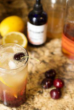 Cherry Bourbon Lemonade #SundaySupper by LittleRedKitchen, via Flickr