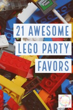 21 Awesome LEGO Party Favors