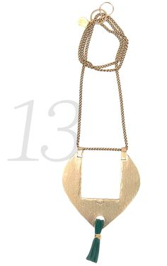 Ottoman Chic | Lonny.com. Interesting pendant. Amante Necklace: $92; Seaworthy http://seaworthy-pdx.myshopify.com/products/amante-necklace