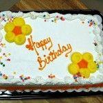 Születésnapi torta receptek a babának