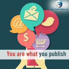 #SocialMedia Social media represents you- SEO India Higherup View more @ www.seoindiahigherup.com