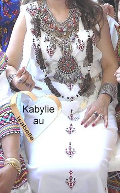 Perles de senteur de la mariée kabyle.