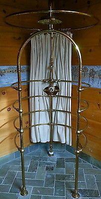 Brass-needle-shower-Volevatch-Rain-Shower-ribcage-Waterworks-quality